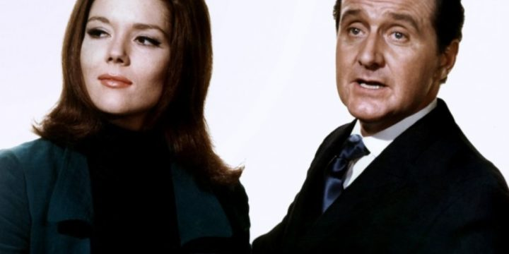 Emma Peel et John Steed